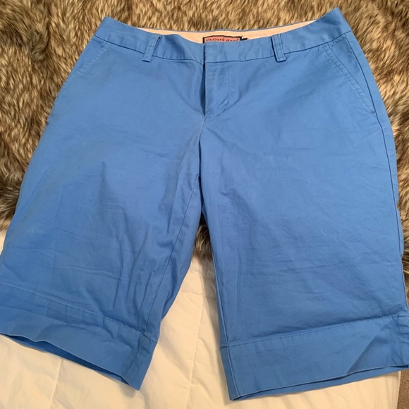 Vineyard Vines Pants - blue Vineyard vines shorts - Women's 6